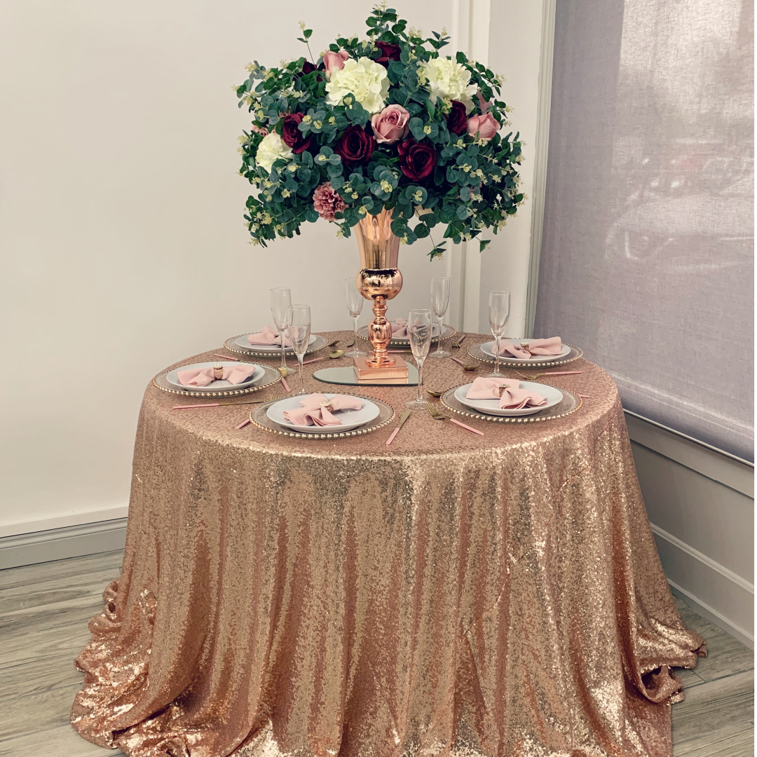How to choose your tablecloth size and 5 popular wedding table sizes1